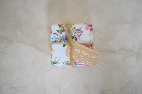 Vintage soap wrappings by NI Wedding Photographer juanita cummings
