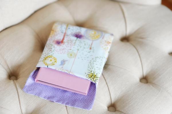 Handmade bags purple