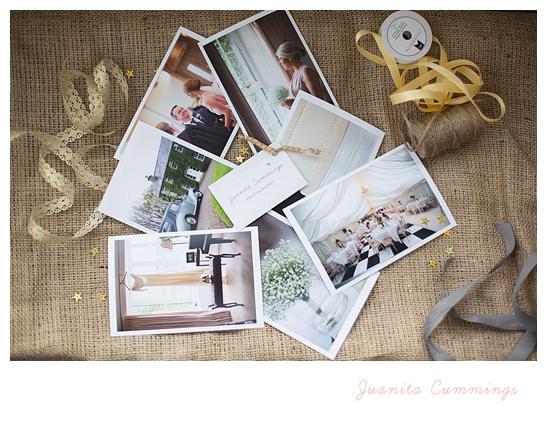 Alex and Rodney wedding packaging by NI Photographer juanita cummings