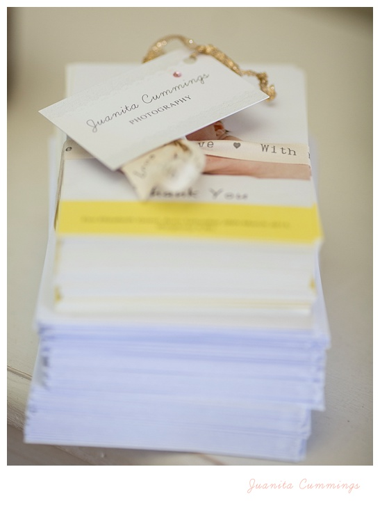 Thank you cards from NI Wedding and Portrait photographer juanita