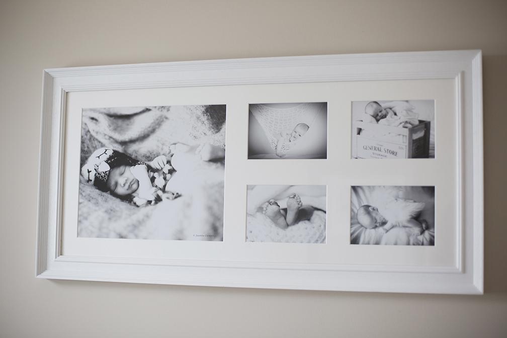 Newborn baby frames